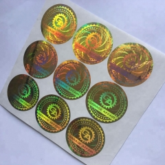 factory wholesale high quality Hologram sticker Manufacturers
